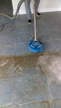 Quick Dry Tile Cleaning