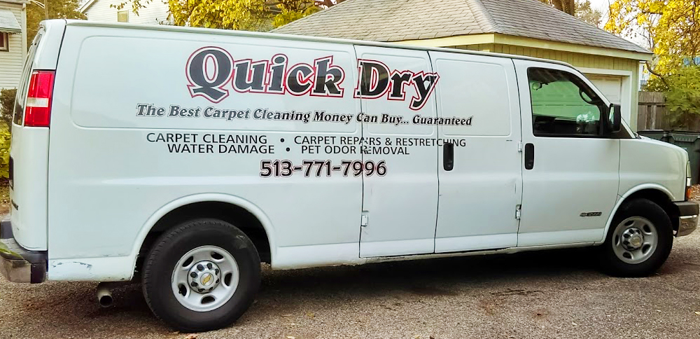 Quick Dry Carpet Cleaning Cincinnati - Services